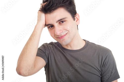 Depressed man - 31690487