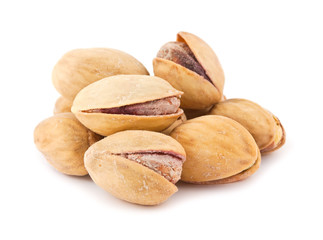 Dry salted pistachio nuts