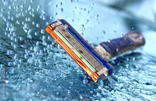 Foto op Plexiglas Havana Razor with water splash