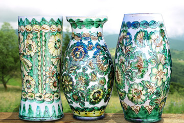Traditional painted ceramics