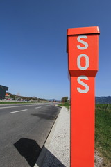 SOS sign for drivers