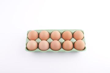 eggbow on the white