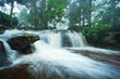 The waterfall on rainy