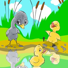 Fairy tale Ugly duckling 3.