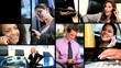 Montage of Successful Business People & Technology