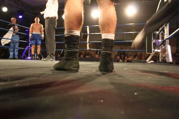 Gegenüberstellung im Boxring