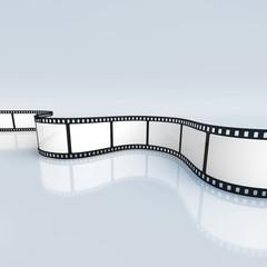 Filmstreifen (mit Freistellungspfad)