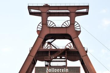 Weltkulturerbe. Zollverein förderturm