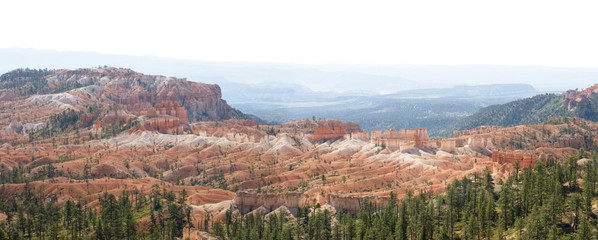 Tower Bridge Trail Panorama in Bryce Canyon National Park