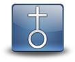 """3D Effect Icon """"Church"""""""