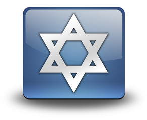 "3D Effect Icon ""Star Of David"""