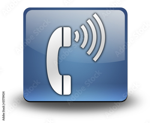 "3D Effect Icon ""Telephone"""