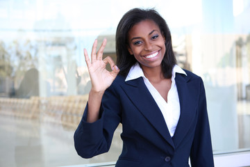 African Business Woman Success
