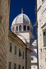 Cathedral of St. James. Sibenik, Croatia.