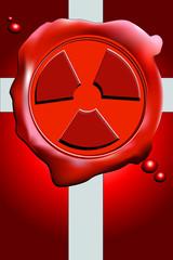Wachssiegel radioaktiv