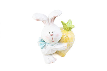 Spring easter bunny