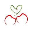 Logo Cherry Love # Vector