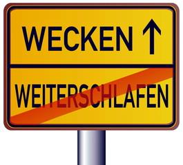 Wecken