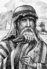 Picture Moses in Egypt