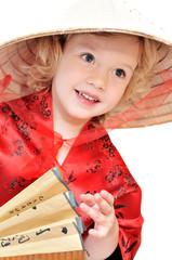 girl in oriental style