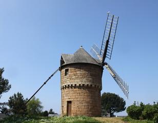 Moulin de la Lande du Crac,perros guirec,ploumanach,bretagne