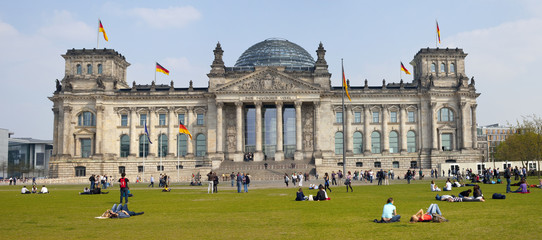 The Reichstag in Berlin