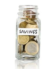 Jar with savings