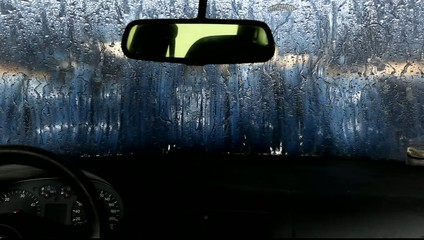 car wash and drying