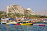East Eilat beach. poster