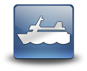 "3D Effect Icon ""Cruise Liner"""