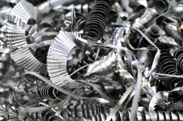 Scrap metal background