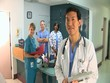 Medical personnel portrait
