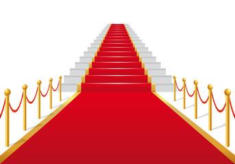 Escalier_Tapis_Rouge_Fond_Blanc