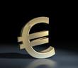 euro symbol gold