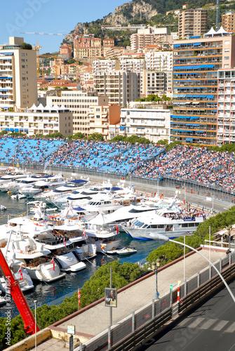Circuit de F1 à Monaco