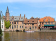 Historic canals of Bruges, Belgium