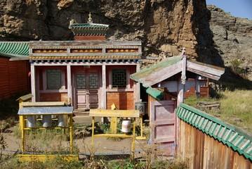 Monastere, Mongolie