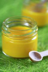 panna cotta pot crème citron