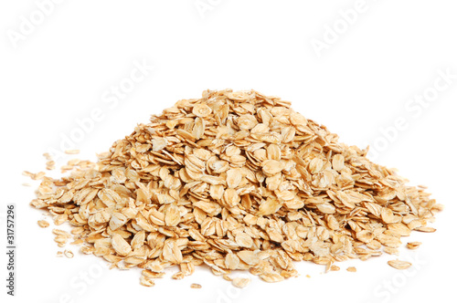 canvas print picture Oat flakes