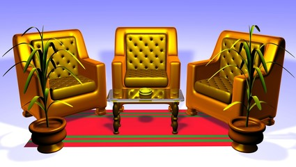 sofa _ Salon
