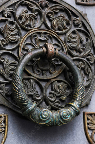 Old Metal Door Handle