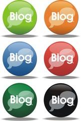 boutons blog