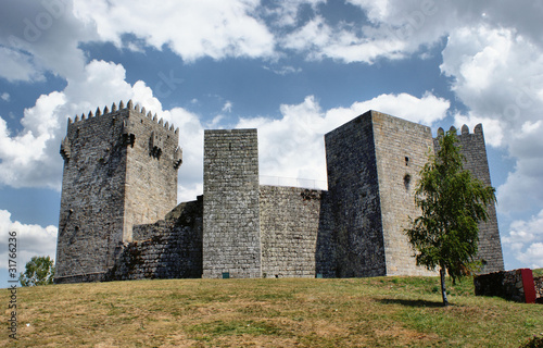 Montalegre castle, north of Portugal