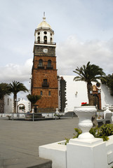 Teguise on the island of Lanzarote in Canary Islands, Spain