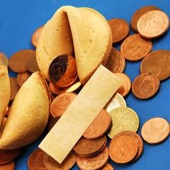 Geld , Münzen , Keks