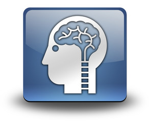 "3D Effect Icon ""Neurology"""