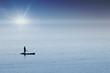 kayak mer océan sport tranquilité calme seul solitude pagaie c
