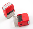 confidential red ink stampers