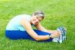 Leinwanddruck Bild - Fitness, healthy lifestyle.