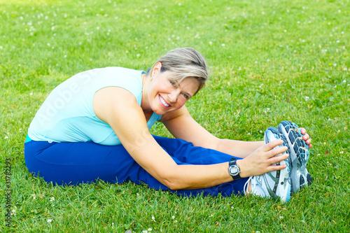 Leinwanddruck Bild Fitness, healthy lifestyle.